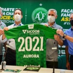 Agroindústria renova contrato com a Chapecoense para 2021