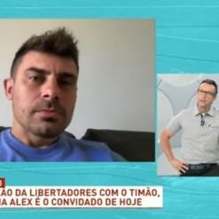 Alex relata depressão após saída do Inter: 'Só queria ficar em casa'