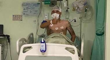 Vini Locatelli já se recupera após cirurgia no pé