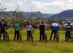 Ciclistas percorrem 15 comunidades de Riqueza