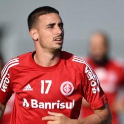 Galhardo é dúvida no Inter para o Gre-Nal