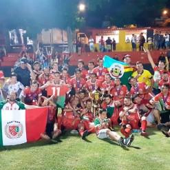 Ginástica é campeão regional de futebol