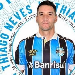 Grêmio anuncia a contratação de Thiago Neves