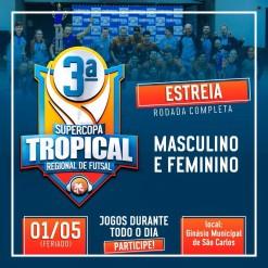 Mondaí disputará Copa Tropical de Futsal