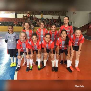 Sub-11 feminino foi uma das equipes campeãs