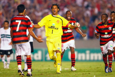 Goleiro Bruno foi ídolo no Flamengo