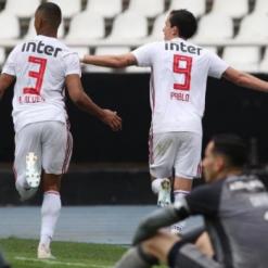 São Paulo bate o Botafogo e encerra jejum no Brasileirão