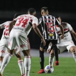 São Paulo empata com o Atlético-MG