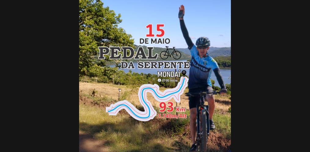 Evento de Cicloturismo acontece em Mondaí e municípios do RS neste sábado (Foto: Divulgação)