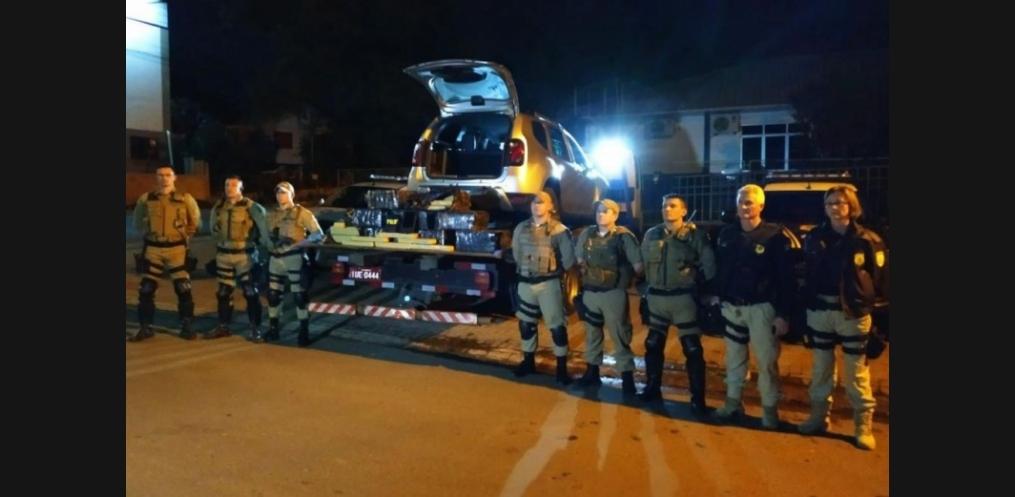 Foto: PRF / Polícia Militar / Divulgação