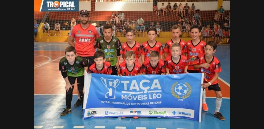 Mondaí é campeão geral da Taça Móveis Léo de Futsal (Foto: Divulgação)
