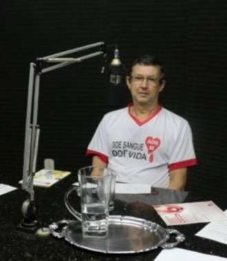 Presidente da Associação dos Doadores de Sangue, Ernesto Muller