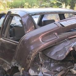 Carros furtados em Caibi eram usados para manobras perigosas e abandonados