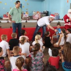 Celesc realiza 'Natal Solidário' em Mondaí