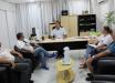 Diretoria da Apae Raio de Sol visita prefeito de Mondaí