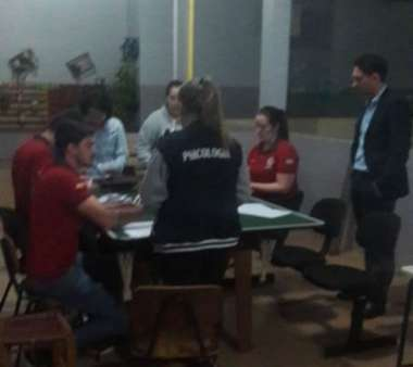 Apuração dos votos no Colégio Artur Deiss
