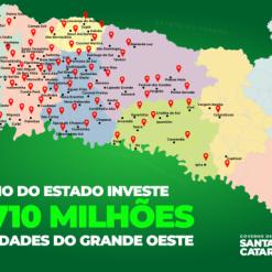 Em três dias no Oeste, Moisés anuncia mais de R$ 700 milhões em investimentos