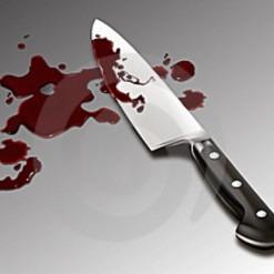 Homem é agredido pelo filho com arma branca em Pinhalzinho