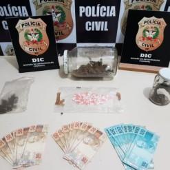 Homem é preso após receber drogas pelos Correios