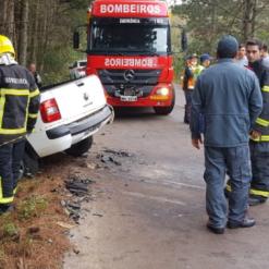 Motorista de carro morre após acidente no Extremo-Oeste