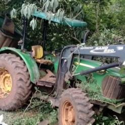 Idoso de 67 anos morre esmagado por trator em município do Oeste