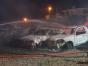 Incêndio destrói carros em pátio de empresa de guincho no Meio-Oeste