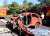 Mãe e filha morrem em grave acidente na BR-282