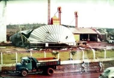 Vendaval causou grande destruição em Maravilha, no ano de 1984