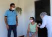 Mondaí realiza a primeira dose da vacinação contra a Covid-19 a domicílio