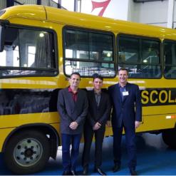 Mondaí recebe ônibus escolar novo