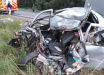 Morador do Oeste morre em grave acidente na BR-470