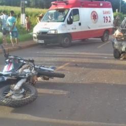 Motociclista morre em grave acidente