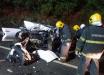 Ônibus com turistas de SMOeste se envolve em acidente com mortes