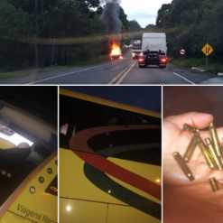 Ônibus que transportava sacoleiros de Chapecó a São Paulo é assaltado