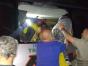 Passageiros são resgatados de ônibus que ameaçava cair em penhasco