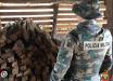 Polícia Ambiental apreende palanques de madeira nativa na região de fronteira