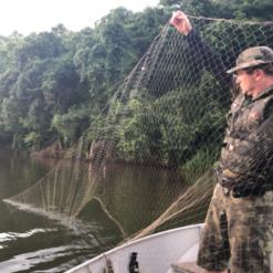 Polícia Militar Ambiental apreende petrechos de pesca