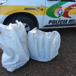 Polícia Militar Rodoviária apreende cerca de R$ 30 mil em contrabando
