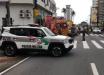 Policial Militar é atropelado e arremessado a 5 metros de distância
