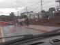 Policial Militar fratura perna após acidente na região