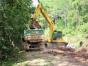 Prefeito de Mondaí acompanha obras na Estrada Beira Rio
