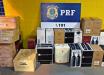 PRF apreende 33 caixas de vinho em Maravilha