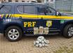 PRF flagra cerca de 26 quilos de maconha e skunk em ônibus