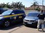 PRF recupera carro furtado que circulava com placas clonadas