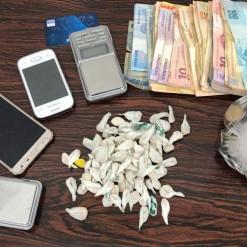 Procurado pela Justiça é preso com drogas em Vicente Dutra
