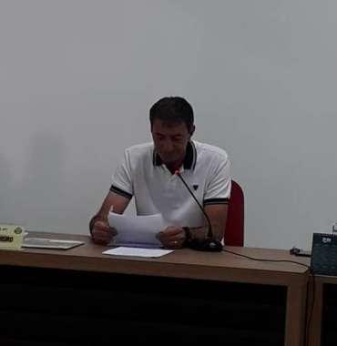 Presidente da Casa, João Cavalheiro