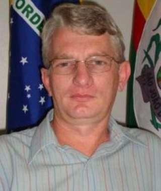 Secretário de saúde de São João do Oeste, Vitus Ritter