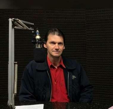 Presidente do Sintraf de Mondaí, Flávio Zang, em entrevista a Porto Feliz
