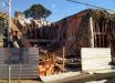Trabalhadores ficam feridos após laje de prédio em construção cair no Oeste