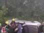 Veículo com quatro pessoas capota e mata idosa de 75 anos
